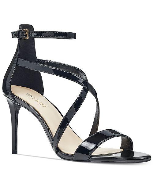 f140160876c Nine West Retilthrpy Strappy Sandals   Reviews - Sandals   Flip ...