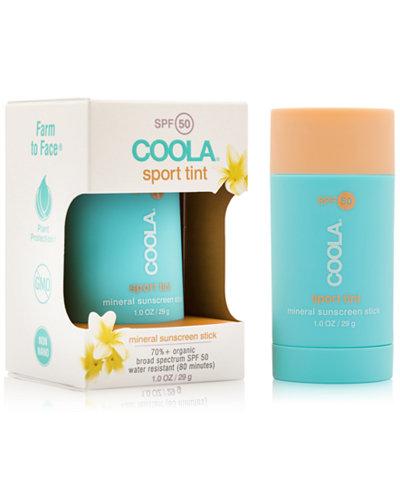 Coola Sport Tint Mineral Sunscreen Stick SPF 50