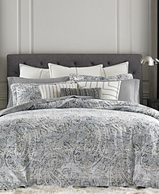 Oak Bluff Paisley Bedding Collection