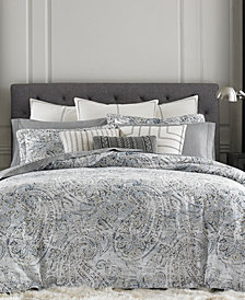 Tommy Hilfiger Oak Bluff 3-Pc. Paisley Full/Queen Duvet Cover Set