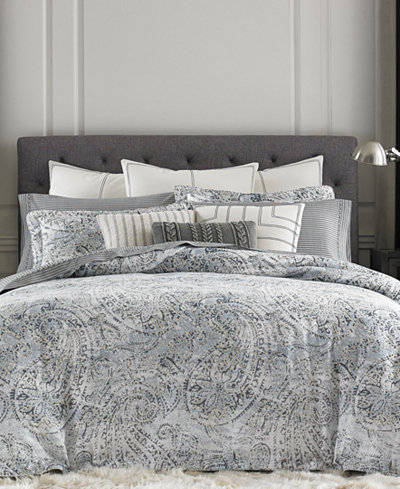 Tommy Hilfiger Oak Bluff Paisley Comforter Sets Bedding