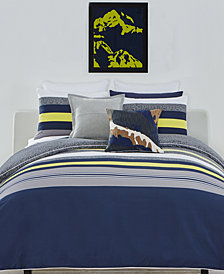 Lacoste Home Tigne Cotton 3-Pc. King Duvet Cover Set