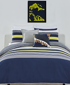 Lacoste Home Tigne 3-Pc. Full/Queen Comforter Set