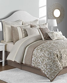 CLOSEOUT! Montauk 14-Pc. Comforter Sets