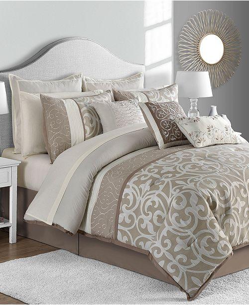 Comforter Sets.Closeout Montauk 14 Pc Comforter Sets