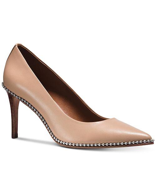 651a5f755a COACH Beadchain Pumps & Reviews - Pumps - Shoes - Macy's
