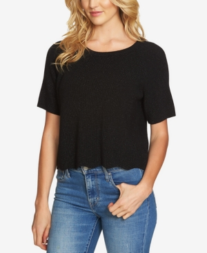 1.state  COTTON CROPPED SWEATER
