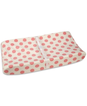 Carters Jungle DotPrint Contoured Changing Pad Cover Bedding