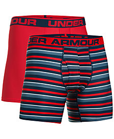 Under Armour Men's 2-Pk. HeatGear® Boxer Briefs