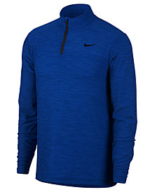 Nike Men's Breathe Quarter-Zip Training Top