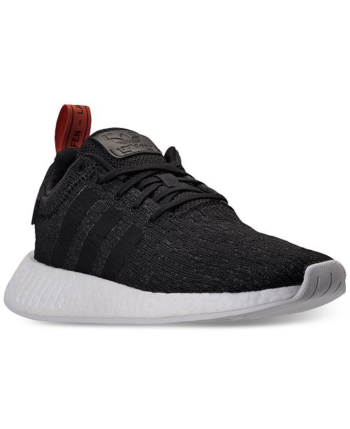 32bd3e7ee adidas Men s NMD R2 Casual Sneakers from Finish Line   Reviews ...