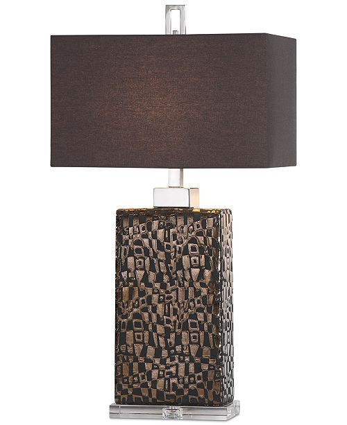 Uttermost Olavo Etched Table Lamp