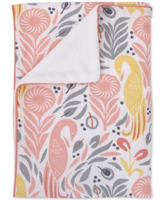 Boheme Graphic-Print Stroller Blanket