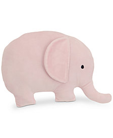 NoJo The Dreamer Collection Plush Elephant Decorative Pillow