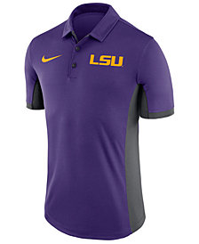 Nike Men's LSU Tigers Evergreen Polo