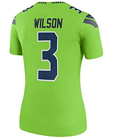 Women's Russell Wilson Seattle Seahawks Color Rush Legend Jersey