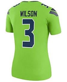 Women's Russell Wilson Seattle Seahawks Color Rush Legend Jersey