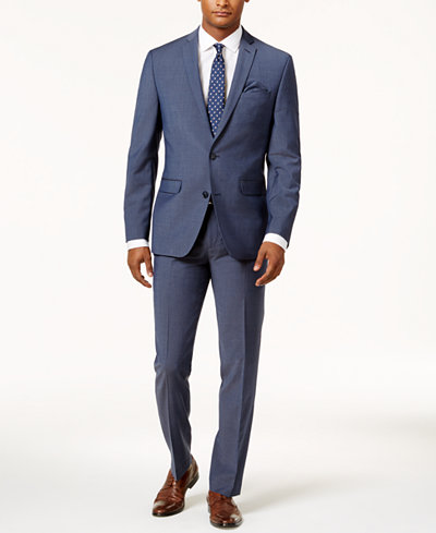 Bar III Men's Slim-Fit Active Stretch Suit Separates, Created for Macy's