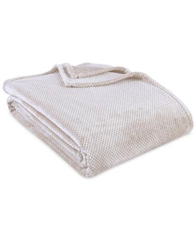 Berkshire VelvetLoft Textured Honeycomb Full/Queen Blanket