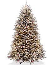 new arrival 1934e f8c7e Flocked Christmas Tree - Macy's