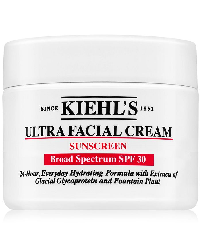 Kiehl's Since 1851 - Ultra Facial Cream Sunscreen SPF 30, 1-oz.