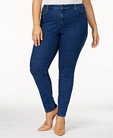 MICHAEL Michael Kors Plus Size Selma Skinny Jeans