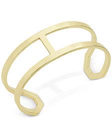 Ivanka Trump Gold-Tone Open Cuff Bracelet