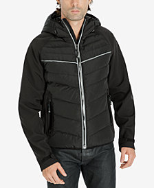 Michael Kors Men's Quilted Hooded Jacket