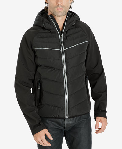 Michael Kors Mens Quilted Hooded Jacket Coats Jackets Men