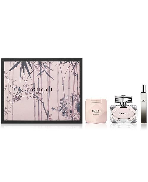 3c4bd2d14af76 Gucci 3-Pc. Bamboo Gift Set   Reviews - All Perfume - Beauty - Macy s
