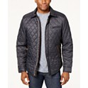 Tasso Elba Mens Quilted Jacket