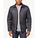 Tasso Elba Mens Quilted Jacket