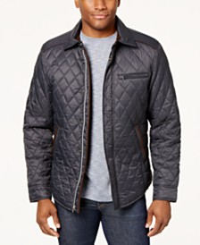 Quilted Mens Jackets & Coats - Macy's : quilted jacket for mens - Adamdwight.com