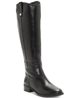 Fawne Wide-Calf Riding Leather Boots , Created for Macy's