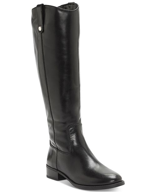 INC International Concepts I.N.C. Fawne Wide-Calf Riding Boots ... 182f0fc2a3