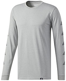 adidas Men's Mini Logo Long-Sleeve T-Shirt