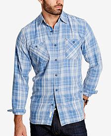 Weatherproof Vintage Men's Plaid Flannel Shirt