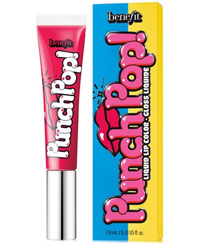 Benefit Cosmetics Punch Pop! Liquid Lip Color