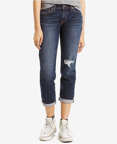 98b05f8e048 Levi s Boyfriend Jeans   Reviews - Jeans - Women - Macy s
