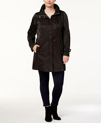 calvin klein plus size anorak jacket - jackets & blazers - plus