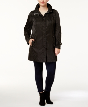 Calvin Klein Plus Size Lightweight Anorak Jacket plus size,  plus size fashion plus size appare