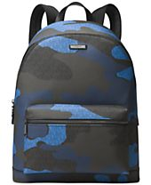 Michael Kors Men's Camo-Print Messenger Backpack