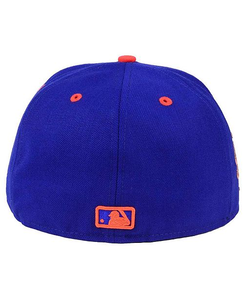 d08484d957287 ... New Era New York Mets X Wilson Circle Patch 59FIFTY Fitted Cap ...