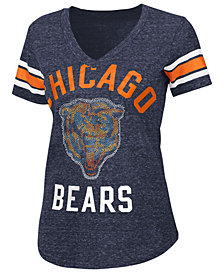 G-III Sports Women's Chicago Bears Big Game Rhinestone T-Shirt