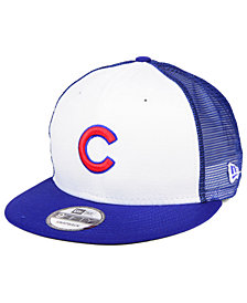 New Era Chicago Cubs Old School Mesh 9FIFTY Snapback Cap