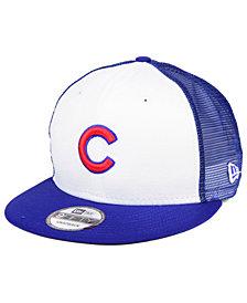 New Era Chicago Cubs Old School Mesh 9FIFTY Snapback Cap