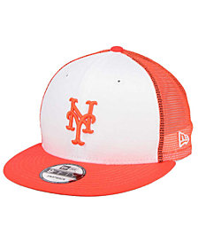 New Era New York Mets Old School Mesh 9FIFTY Snapback Cap