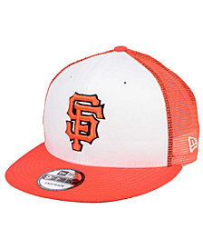 New Era San Francisco Giants Old School Mesh 9FIFTY Snapback Cap