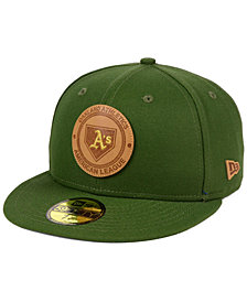 New Era Oakland Athletics Vintage Olive 59FIFTY Fitted Cap