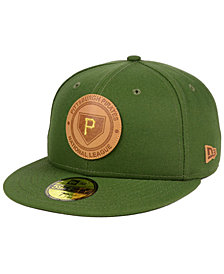 New Era Pittsburgh Pirates Vintage Olive 59FIFTY Fitted Cap
